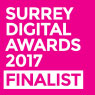 Surrey Digital Awards 2017 Finalist